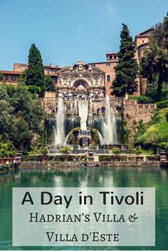 Tivoli, Italy, is home to two UNESCO World Heritage Sites -- Hadrian's Villa (an emperor's estate from the 2nd century) and some of the most spectacular gardens and fountains ever built at Villa d'Este. They're an easy day trip from Rome.