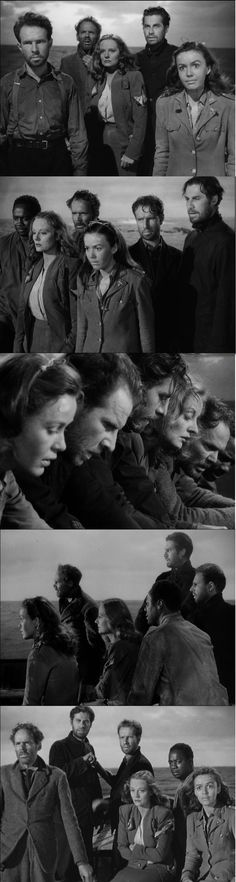 Lifeboat a story of survival on open sea amidst WWII. The Pleasure Garden, 1940s Movies, The 39 Steps, Dial M For Murder, Jamaica Inn, To Catch A Thief, North By Northwest, Alfred Hitchcock, Silent Film