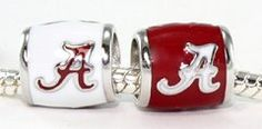 Celebrate the Back-to-Back National Championships with 2 Sterling Silver Beads for your bracelet or necklace!  Available now at Blue Bumble Bee...we ship 205-426-9330.