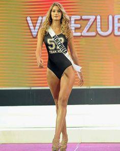 Miss Venezuela - Mariam Habach, en esta Ocasion, en su primer Desfile en Traje de Baño, Demostrando Clase, Elegancia y un Excelente Dominio en  Pasarela, en Manila Filipinas, para el Miss Universe 2016-2017... By Antoni Azocar