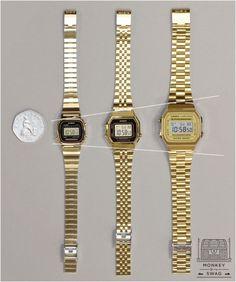 Casio Retro Gold Ladies Watch Classic Cool