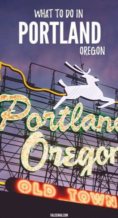 What to do in Portland, Oregon | Portland City Guide | Pacific Northwest Activities | Multnomah Falls | Powell's Books | Foodie Travel  via @valerievalise/