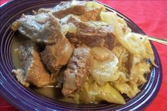 Dutch-Style Beef and Cabbage (Crock Pot)
