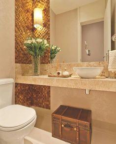Trendy Apartment Small Bathroom Home Decor Ideas Best Bathroom Designs, Bathroom Interior Design, Modern Bathroom, Small Bathroom, Wc Decoration, Small Toilet, Amazing Bathrooms, Bathroom Inspiration, Home Decor