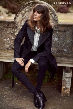 reserved fall ads18 Freja Beha Erichsen Exudes Cool for Reserveds Fall 2013 Ads