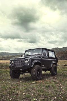 Land Rover D90 Custom 13 740x1110 ICON Land Rover Defender D90 LS3 V8