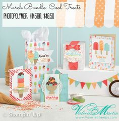 Valerie Stamps Stampin Up Cool Treats