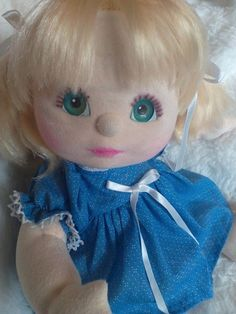 My Child Doll Taiwan Blonde with Teal eyes