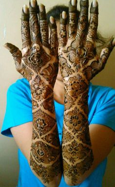 Bridal Mehndi Designs By Aksha Shah from Mumbai