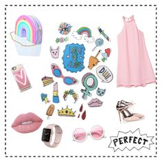 """😍"" by annamelanie ❤ liked on Polyvore featuring MANGO, Skinnydip, Fratelli Karida, Casetify, ZeroUV and Lime Crime"