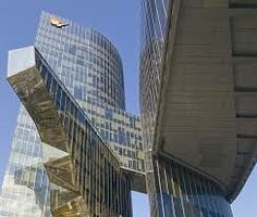 Gas Natural Office Building, Barcelona, Catalonia. By Enric Miralles & Benedetta Tagliabue   EMBT, architects