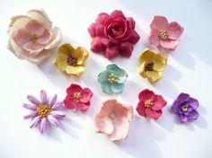 Vintage Shell Flowers