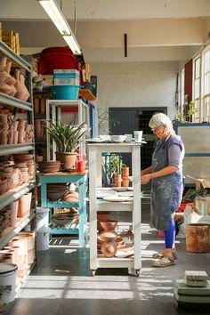 Studio Visit: Clementina Ceramics | Miss Moss