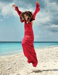 """Wild Flower"" | Model: Erin Wasson, Photographer: Petrovsky & Ramone, Vogue Netherlands, May 2013"