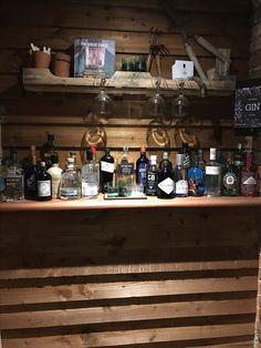 Village Inn, Liquor Cabinet, Restaurant, Home Decor, Decoration Home, Room Decor, Diner Restaurant, Restaurants, Home Interior Design