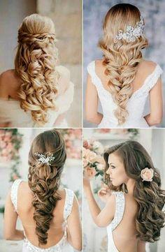 Awe Inspiring Elegant Wedding Hairstyles Part Ii Bridal Updos Elegant Wedding Short Hairstyles Gunalazisus