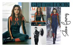 """""""Selena Gomez Vogue Brazil June 2016 Cover"""" by valenlss ❤ liked on Polyvore featuring Louis Vuitton"""
