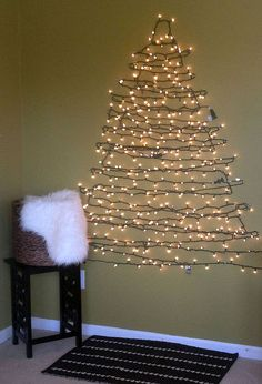 diy christmas tree alternative, seasonal holiday d cor, DIY Christmas Tree Alternative Easy to put up and easy to take down without all the hassle of a real tree