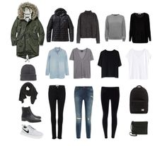 Minimalist Winter Packing for Japan