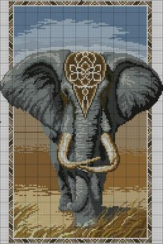 point de croix Gray Things gray color car names Elephant Cross Stitch, Cross Stitch Animals, Cross Stitch Kits, Cross Stitch Charts, Cross Stitch Designs, Cross Stitch Patterns, Cross Stitching, Cross Stitch Embroidery, Elephant Quilt