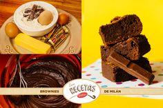 Brownies de Milán: Para ver o descargar la receta, dirigite al tab de recetas en nuestro fanpage de Facebook.