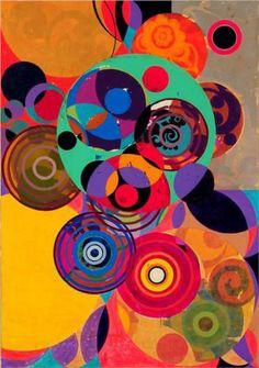 The Artist Beatriz Milhazes Creates Modern Motifs With Echoes of Brazilian Culture - The New York Times Modern Art, Contemporary Art, Illustration, Art Graphique, Pattern And Decoration, Art Plastique, Oeuvre D'art, Street Art, Abstract Art