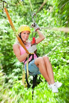 Ziplining-i'd love to do this :)