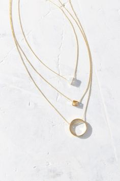 Just Geo Necklace Set - Urban Outfitters