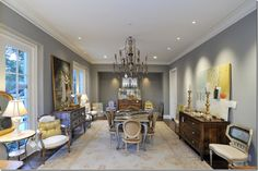 Love the feel of this room, so elegant.    Things That Inspire: A one of a kind Atlanta antique sale