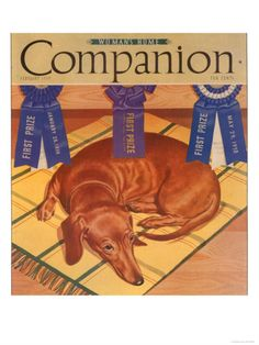 Woman's Home Companion, Dogs Magazine, USA, 1930 Premium Poster at Art.com