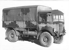 AEC Matador used in the WW2