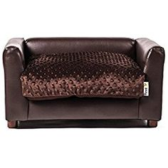 dallas manufacturing co. 29-inch19-inch faux leather dog sofa