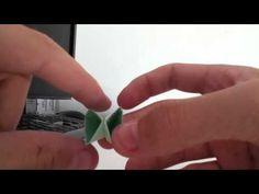 Tutorial de origami: cómo hacer una flor de papel - Manualidades con papel: como hacer una flor