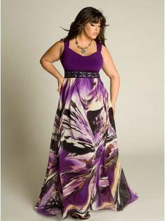 Amrita Plus Size Gown by IGIGI