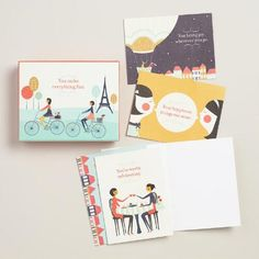 One of my favorite discoveries at WorldMarket.com: Celebrating You Boxed Notecards, Set of 10