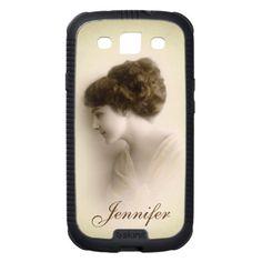 Beautiful Victorian Lady Portrait Samsung Galaxy SIII Skinit Cargo Case $52.90 #samsung #galaxy #vintage