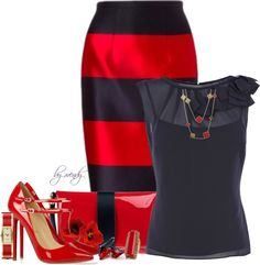 """""""Pencil #3"""" by wendyfer on Polyvore"""