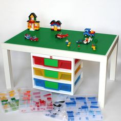 Large Lego Table  20 x 34 Lego Surface with by VineStreetMaker, $165.95