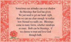 Christian Images In My Treasure Box: Quote: Attitude