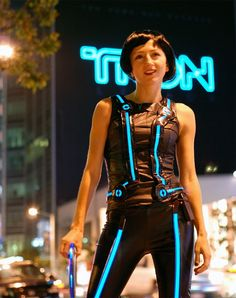 DIY Tron Costume