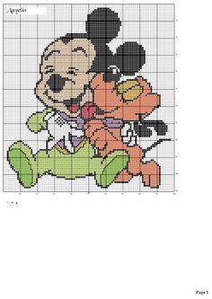 graficos infantiles punto de cruz (pág. 5) | Aprender manualidades es facilisimo.com