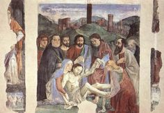 Domenico Ghirlandaio Lamentation over the Dead Christ, painting Authorized official website