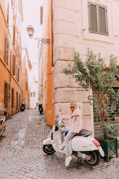I wanted to fulfill my dream of riding a scooter around Rome, but if you've ever been here and seen the crazy traffic you would know that's… Eurotrip, The Places Youll Go, Places To Visit, 10 Days In Italy, Surf, Bali, Living In Italy, Wanderlust, Travel Goals