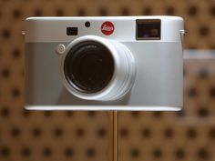 2. Newson and Ive also collaborated on this special-edition Leica. Like your iPhone, it, too, has little ornament and only a few buttons.