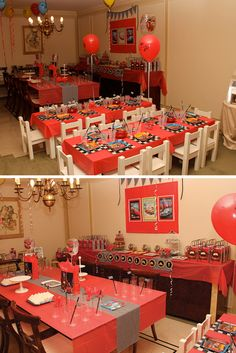 """Photo 1 of 5: CARS 2 / Birthday """"""""Martín turned 3 along Ligthtning McQueen and his friends""""""""""""   Catch My Party"""