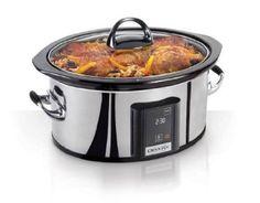 Crock-Pot SCVT650-PS 6-1/2-Quart Programmable Touchscreen Slow Cooker,Stainless Steel: Amazon.com: Kitchen & Dining