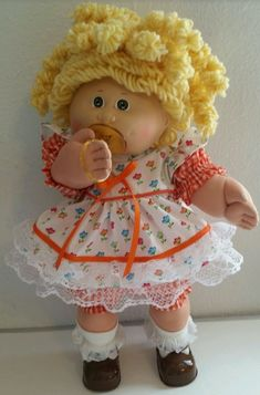 I always wanted my very own cabbage patch kids. Doll Toys, Baby Dolls, Cabbage Patch Kids Dolls, Garbage Pail Kids, Vintage Dolls, Vintage Stuff, Bitty Baby, My Childhood Memories, Retro Toys