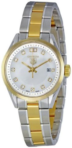 TAG Heuer Women s WV1450.BD0797 Carrera Mother of Pearl Dial Watch Cheap  Watches a025dd6897f