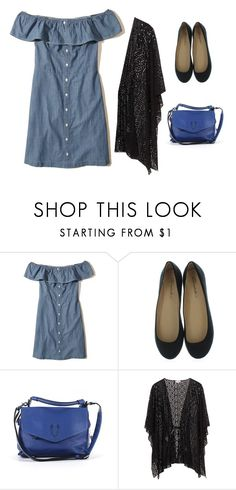 """Blue💞"" by miriamprado ❤ liked on Polyvore featuring Hollister Co. and Gryson"
