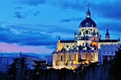 """Madrid Bucket List-Sunset from """"the hill"""""""